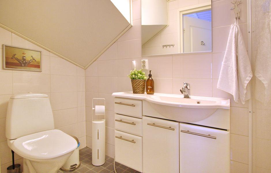 Levin Lumienkeli A6 alakerran kylpyhuone